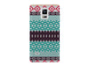 Clear Teal Aztec Phone Case