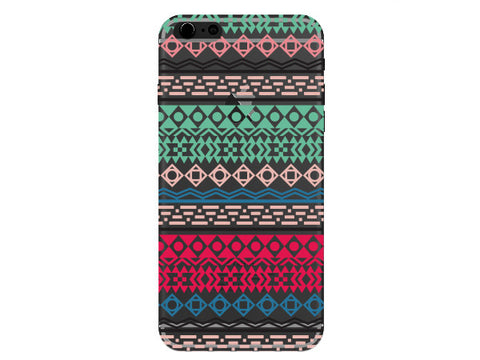 Clear Aztec Fun Colored Phone Case