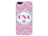 CNA Chevron Pink Certified Nurse Assistant Phone Case