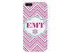 EMT Chevron Pink Emergency Medical Technician Phone Case