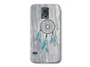 White Washed Wood Grain Dream Catcher Phone Case