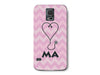 Chevron Stethoscope Medical Assistant Pink Phone Case