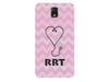 Chevron Stethoscope Registered Respiratory Therapist Pink Phone Case