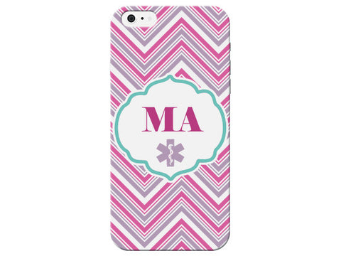 Chevron Medical Assistant Pink Phone Case