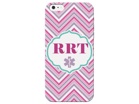 Chevron Registered Respiratory Therapist Medical Phone Case