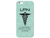 Licensed Practical Nurse Mint Phone Case