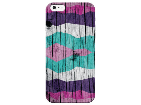 Bright Wood Grain Pattern Phone Case