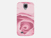 Close Up Pink Rose Phone Case