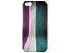 Wood Grain Bold Striped Phone Case