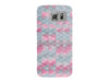 Pink and Gray Geometric Phone Case