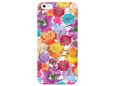 White Floral Phone Case