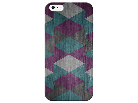 Geometric Wood Grain Phone Case