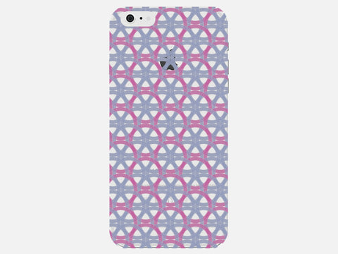 Geometric Circles Clear Phone Cover
