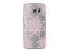 Pastel Geometric Star Clear Phone Cover