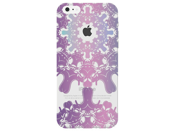Purple & Pink Mandala Phone Back Cover
