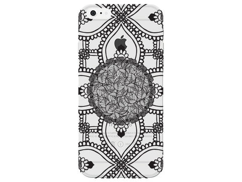Circle Zen Tangle Pattern Mandala Phone Cover