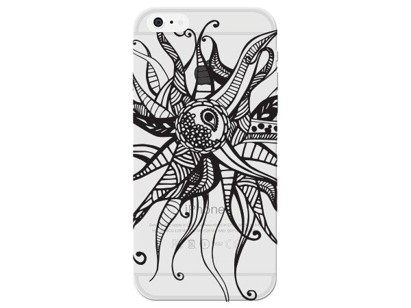 Crazy Star Mandala Phone Cover