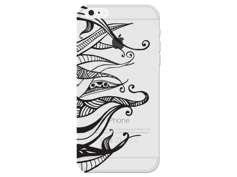 Swirly Patterned Legs Mandala Phone Cover