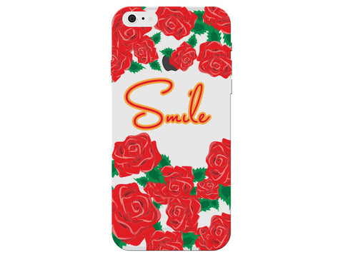 """Smile"" Inspirational Clear Phone Cover"