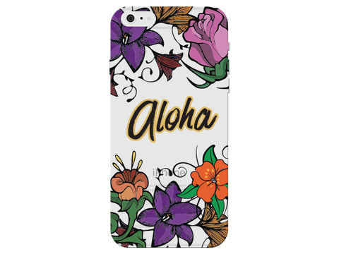 """Aloha"" Inspirational Clear Phone Cover"