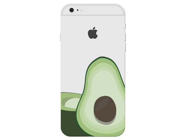Avocado Clear Phone Cover