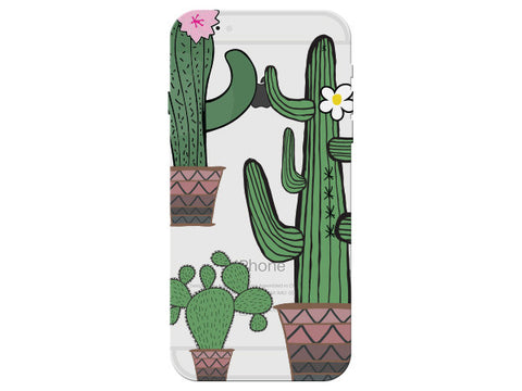 Cactus Clear Phone Cover