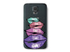 Colorful Lips Clear Phone Cover