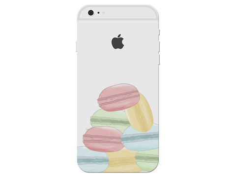 Macaroon Clear Phone Cover