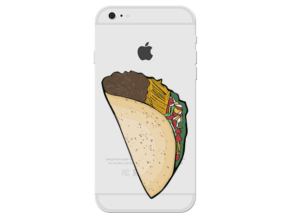Taco Clear Phone Cover