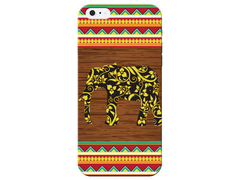 African Style Elephant Phone Case