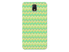 Green & Yellow Cute Chevron Striped Phone Case