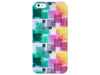 Bubbles and Squares Colorful Pattern Phone Case