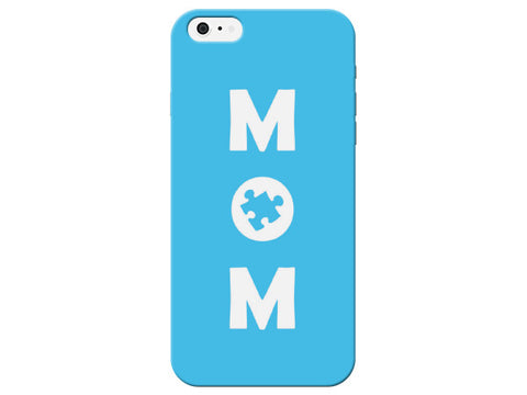 Blue Mom Puzzle Piece Phone Case