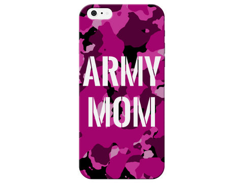 Army Mom Stencil Camo Phone Case