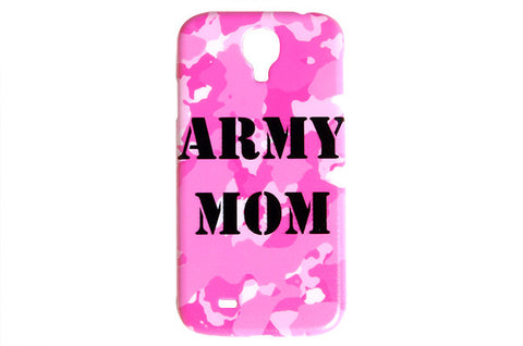 Light Pink Camo Army Mom Phone Case