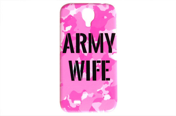 Light Pink Army Wife Camo Phone Case