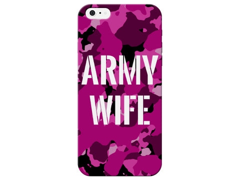 Army Wife Print Camo Phone Case