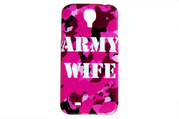 Hot Pink Army Wife Camo Phone Case