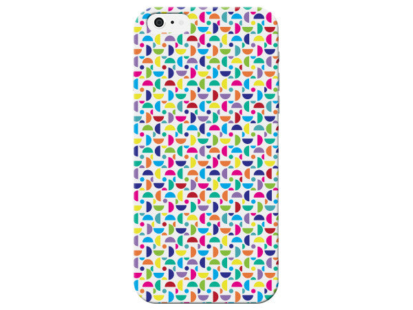 Colorful Half Circle Design Phone Case