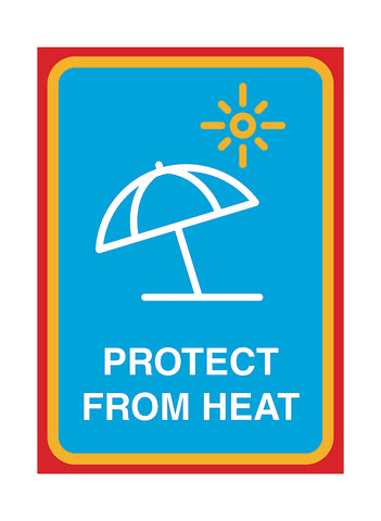 """Protect From Heat"" Yard Sign"