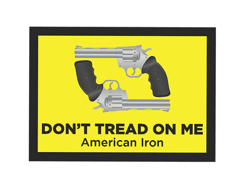 """Don't Tread On Me - American Icon"" Gun Rights Sign"
