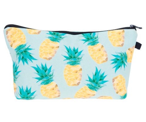 Watercolor Pineapple Pouch
