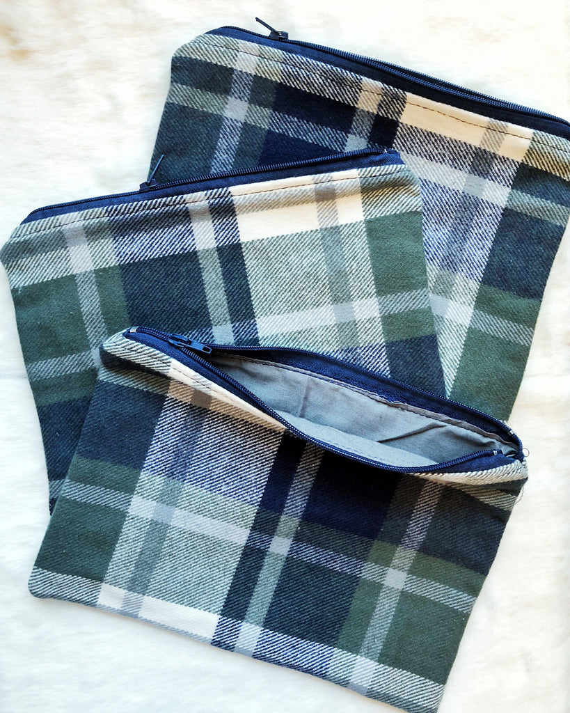 Preppy Plaid Pouch