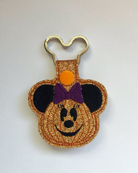 Halloween Miss Mouse Key chain