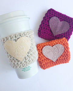 Embossed Lace Heart