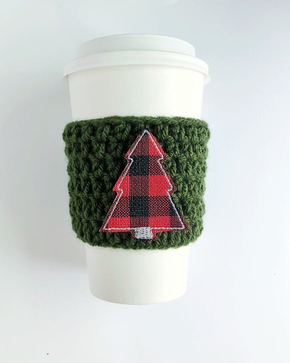 Plaid Christmas Tree (Red & Black)