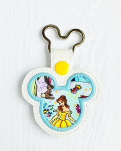 Belle Key Chain