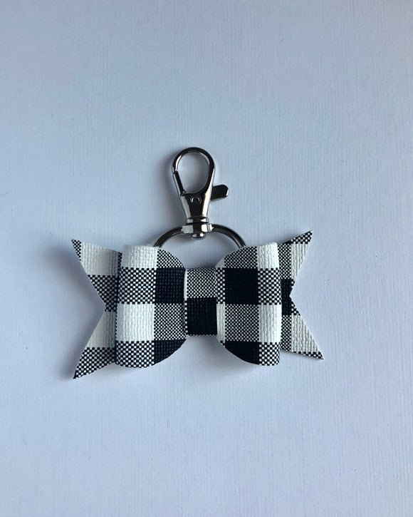 Buffalo Plaid Key Fob