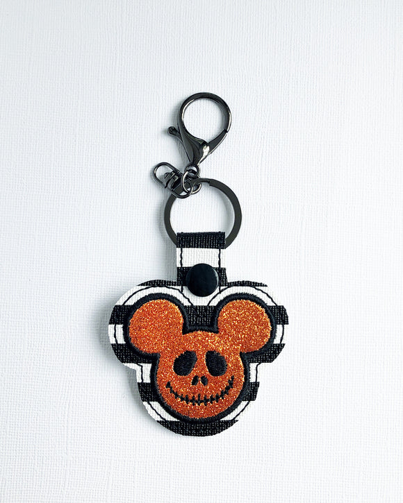 Pumpkin King Key Chain