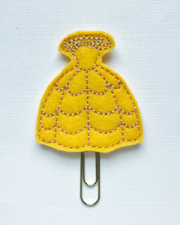Belle's Gown Planner Clip